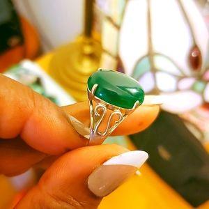 Beautiful jade ring